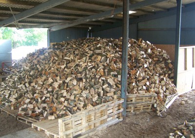 Our barn-stored firewood